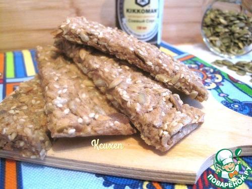 Хлебцы мультизерновые постные простой рецепт приготовления с фотографиями пошагово #5