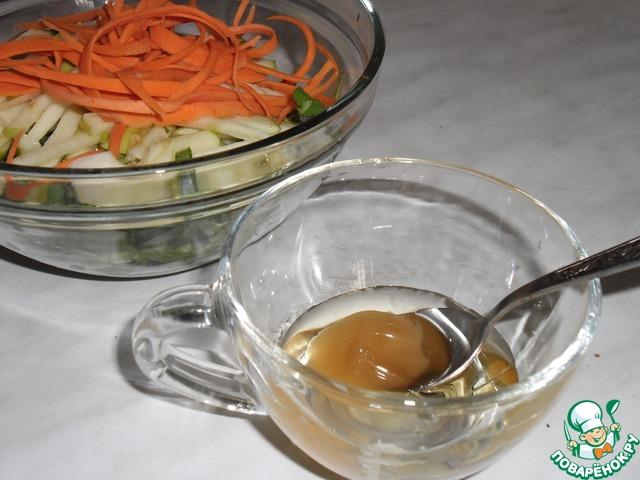 """Салат """"Утешение желудка"""" простой рецепт с фото пошагово как готовить #6"""