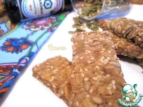 Хлебцы мультизерновые постные простой рецепт приготовления с фотографиями пошагово #6
