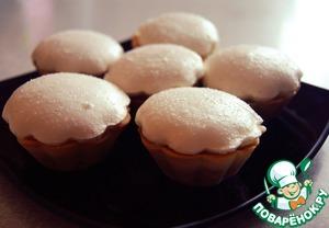 Готовим вкусный рецепт приготовления с фотографиями Сладкие тарталетки с повидлом и меренгой