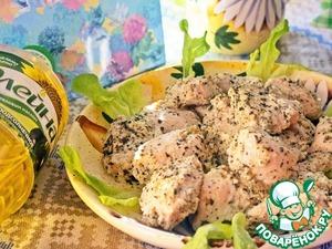 Рецепт Курица в кефире с базиликом