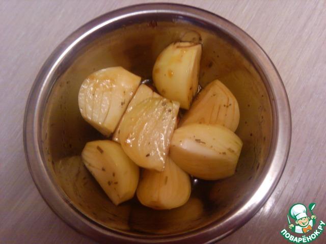 Скумбрия в сладком маринаде с печеным луком домашний рецепт с фото пошагово как готовить #9