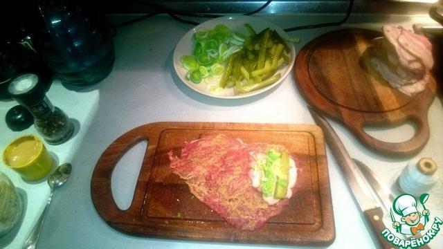 Как приготовить Рулетики из говядины вкусный рецепт приготовления с фотографиями пошагово #3