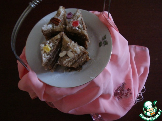 Как готовить Хлебные пирожные вкусный пошаговый рецепт с фото #6