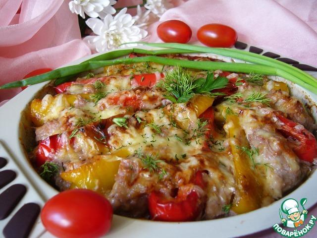 Как приготовить Куриная грудка, запечённая в соусе с перцем вкусный рецепт с фотографиями #10