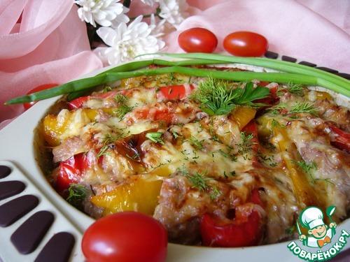 Как приготовить Куриная грудка, запечённая в соусе с перцем вкусный рецепт с фотографиями #11