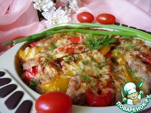 Как приготовить Куриная грудка, запечённая в соусе с перцем вкусный рецепт с фотографиями