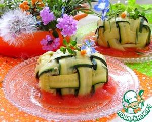 Рыбное филе в мешке из цукини вкусный пошаговый рецепт приготовления с фотографиями