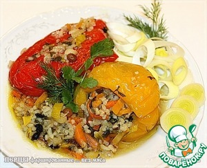 Перцы фаршированные вкусный рецепт с фотографиями пошагово как готовить