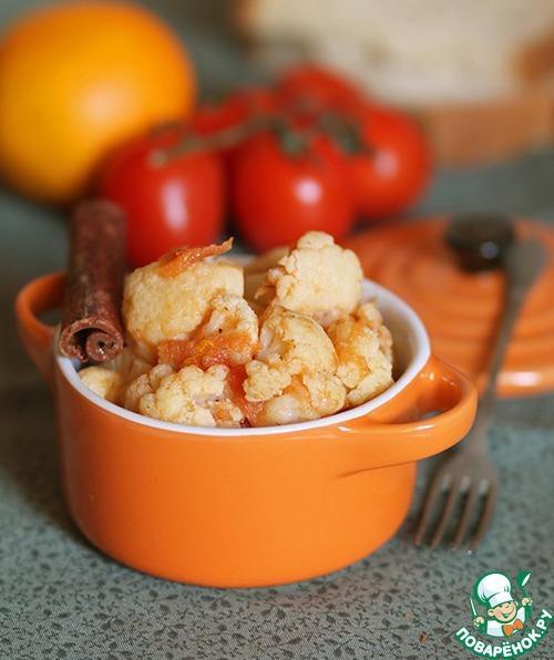 Цветная капуста с томатами и корицей простой пошаговый рецепт приготовления с фотографиями готовим #4