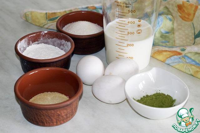 Как готовить вкусный рецепт приготовления с фотографиями Милфей с чаем матча и клубникой #6