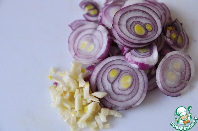 Готовим Салат с нутом, овощами и пряной заправкой вкусный рецепт с фото пошагово #2