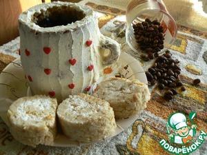 Готовим вкусный рецепт приготовления с фотографиями Чашечка кофе с рулетом на Новый Год