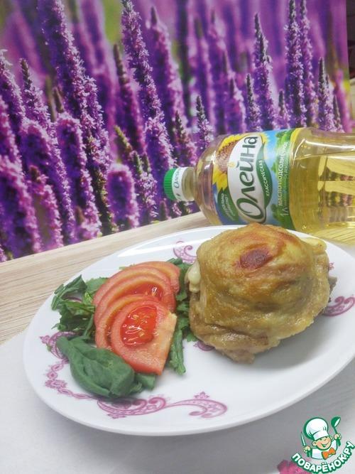 """Как приготовить Бедра куриные """"По-французски"""" вкусный рецепт с фото #10"""