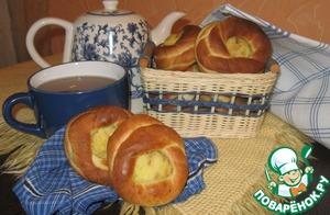Рецепт Постные картофельные ватрушки