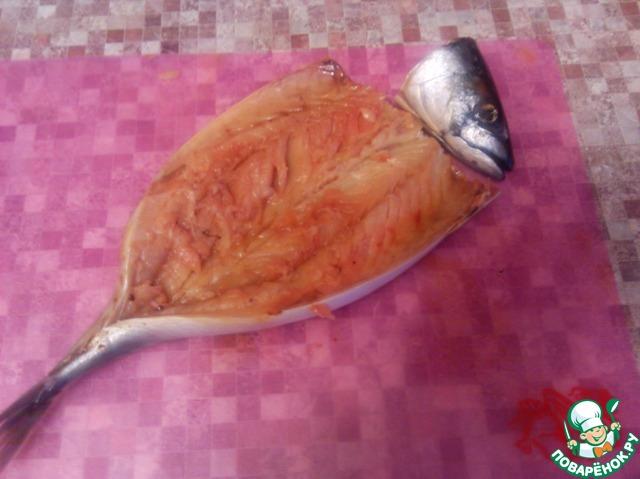 Скумбрия в сладком маринаде с печеным луком домашний рецепт с фото пошагово как готовить #2