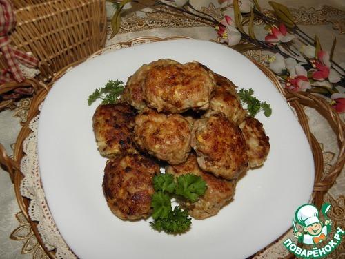 Мясные котлеты с сыром и яйцом рецепт приготовления с фото пошагово #9