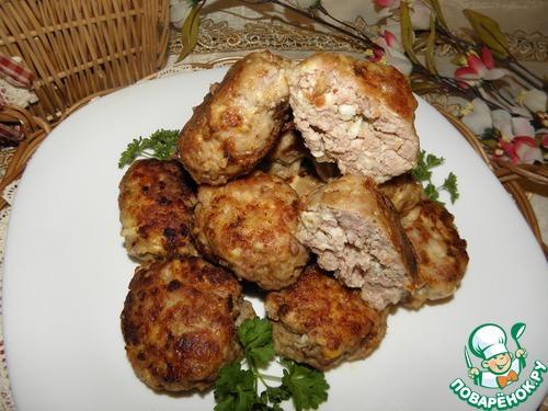 Мясные котлеты с сыром и яйцом рецепт приготовления с фото пошагово #12