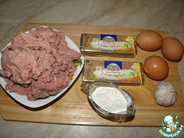 Мясные котлеты с сыром и яйцом рецепт приготовления с фото пошагово #1