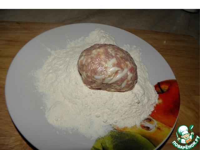 Мясные котлеты с сыром и яйцом рецепт приготовления с фото пошагово #5