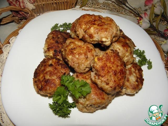 Мясные котлеты с сыром и яйцом рецепт приготовления с фото пошагово #7