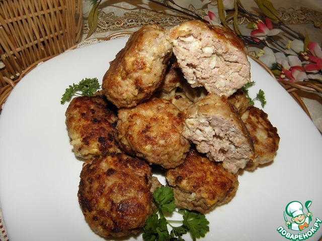 Мясные котлеты с сыром и яйцом рецепт приготовления с фото пошагово #8
