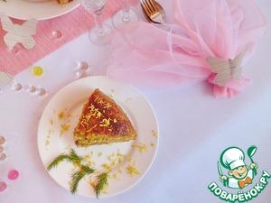 """Рецепт Бобово-мясной закусочный """"торт"""""""