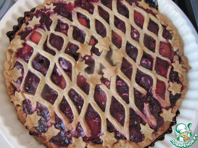 Как готовить Легкий пирог с ягодами домашний рецепт с фотографиями #12