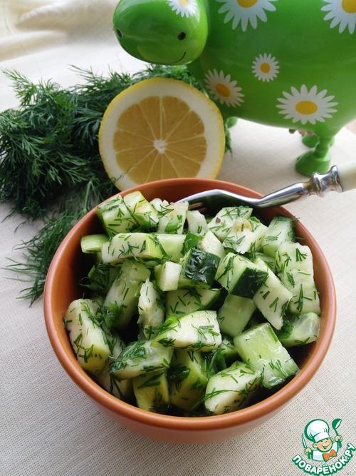Простой зеленый салат простой рецепт приготовления с фото готовим #9