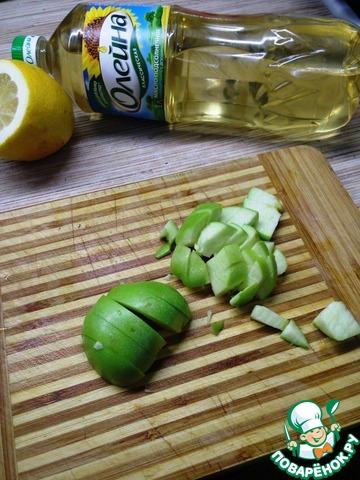 Простой зеленый салат простой рецепт приготовления с фото готовим #3