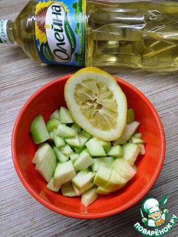 Простой зеленый салат простой рецепт приготовления с фото готовим #4