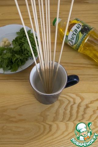 Шашлычки из филе трески с соусом рецепт приготовления с фото пошагово как приготовить #2