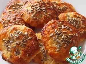 Как приготовить Творожное печенье с семечками домашний пошаговый рецепт с фотографиями