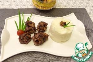 Рецепт Свиные медальоны с грибами