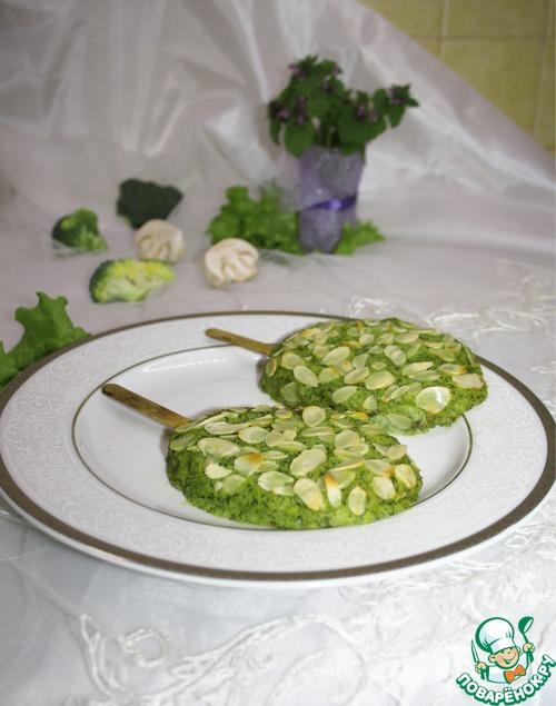 """Готовим """"Эскимо"""" с брокколи и грибами домашний пошаговый рецепт приготовления с фото #7"""