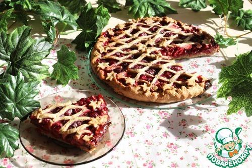 Как готовить Легкий пирог с ягодами домашний рецепт с фотографиями #13