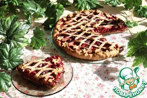 Как готовить Легкий пирог с ягодами домашний рецепт с фотографиями