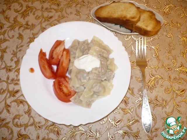 """Готовим простой рецепт приготовления с фото Пельмени """"Домашние"""" #21"""