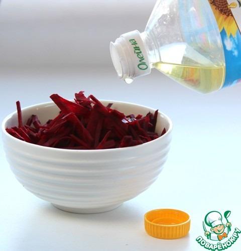 Салат из свёклы с грушей рецепт приготовления с фото пошагово #2