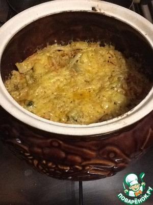 Морепродукты с овощами в горшочке вкусный пошаговый рецепт приготовления с фото