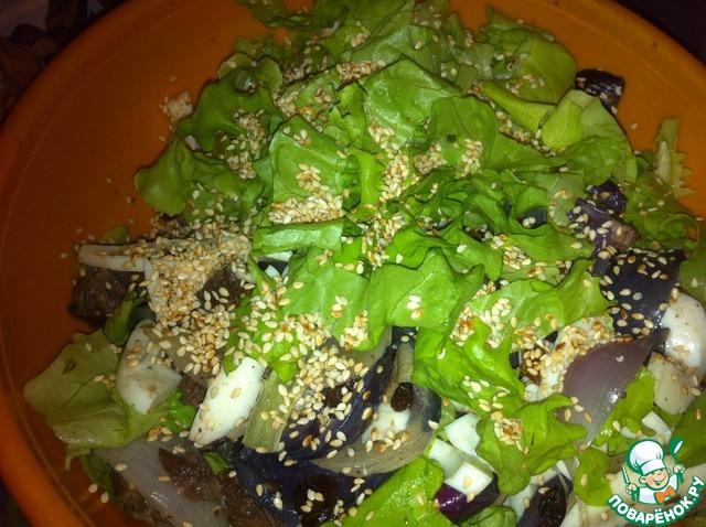 """Как готовить Салат легкий """"Голодуха"""" домашний рецепт с фото #9"""