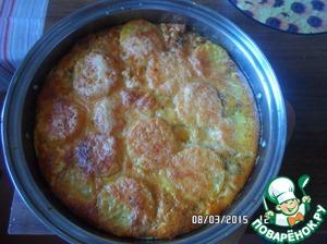 Рецепт Картофельная запеканка с грибами и курицей