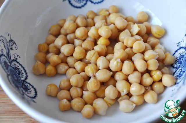 Готовим Салат с нутом, овощами и пряной заправкой вкусный рецепт с фото пошагово #1