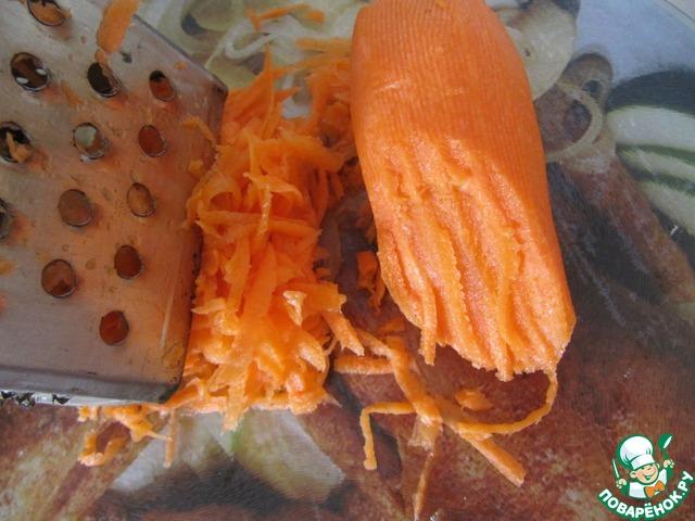 Готовим рецепт с фото Баклажаны с овощной начинкой #2