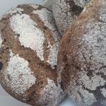 Порционный ржаной заварной хлеб на закваске