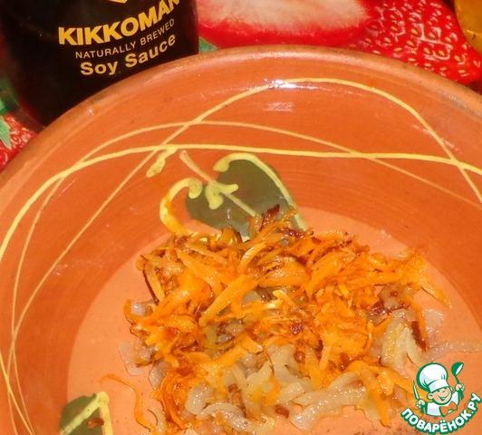 Как приготовить Рыбно-овощной салат вкусный рецепт с фото #1