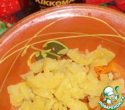Как приготовить Рыбно-овощной салат вкусный рецепт с фото #2