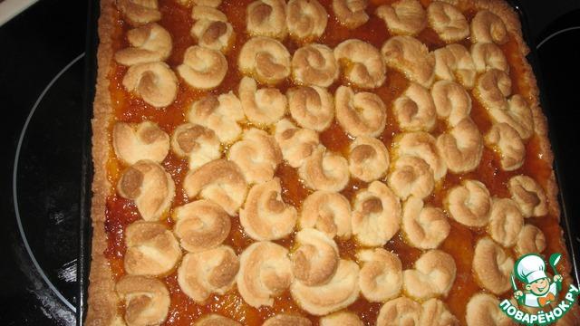 Как приготовить Уютный пирог с абрикосовым джемом вкусный рецепт приготовления с фото пошагово #7