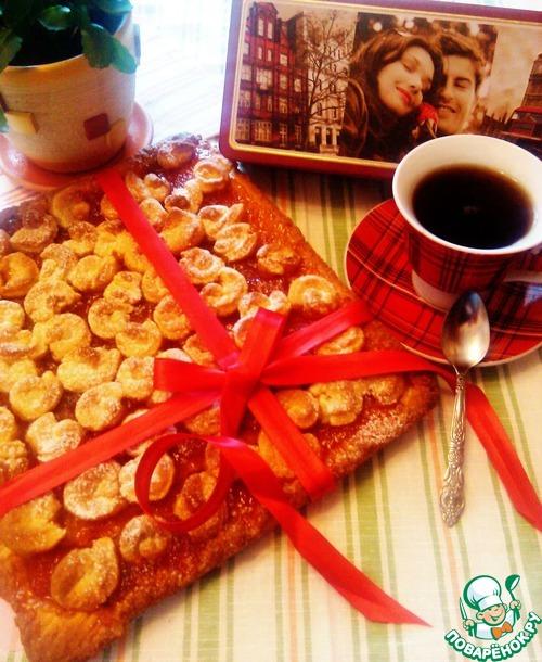 Как приготовить Уютный пирог с абрикосовым джемом вкусный рецепт приготовления с фото пошагово #8