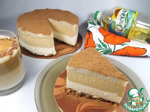 """Торт-суфле """"Кофе Латте"""" рецепт приготовления с фотографиями готовим #10"""